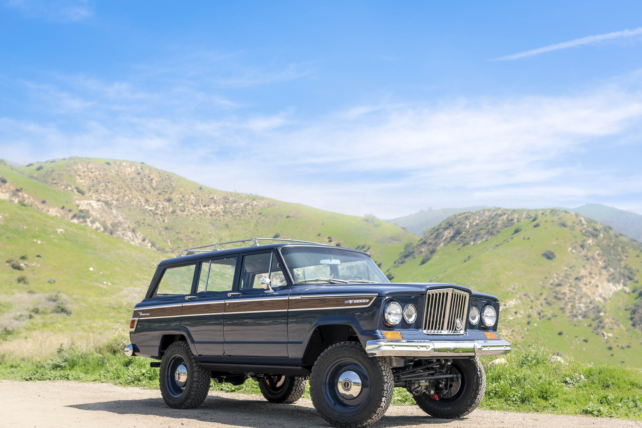 1965 ICON Jeep Wagoneer front 3/4