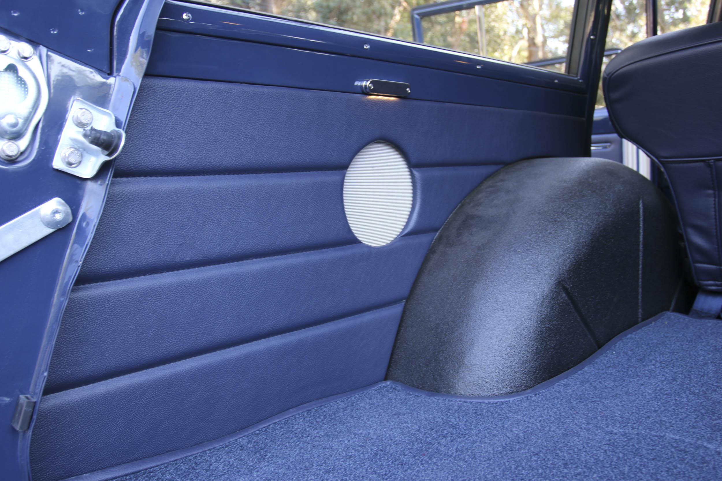 ICON Wagoneer cargo panel