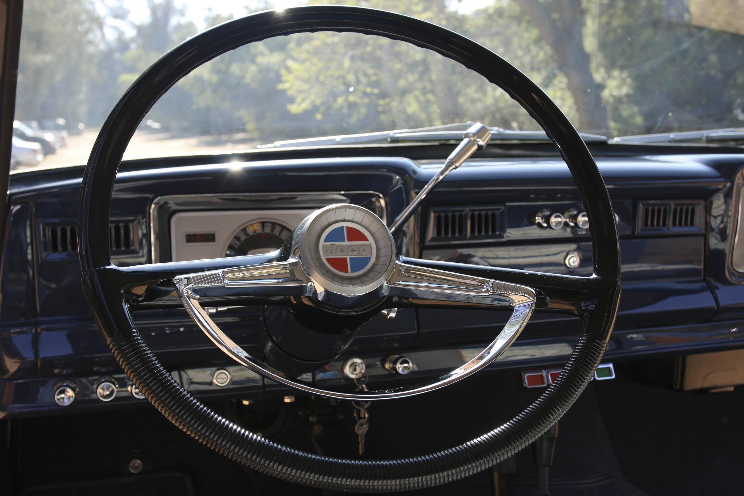 ICON Wagoneer steering wheel