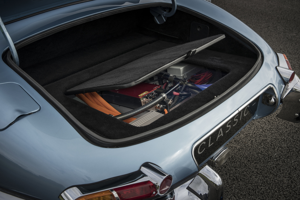Jaguar E-Type Zero Concept trunk