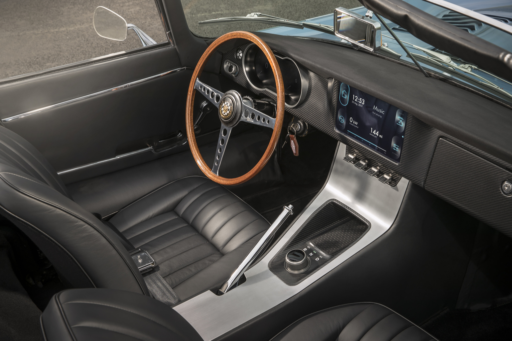 Jaguar E-Type Zero Concept Interior