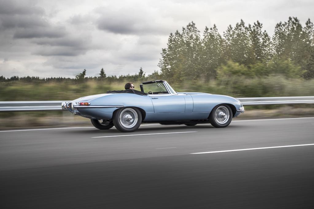 Jaguar E-Type Zero Concept