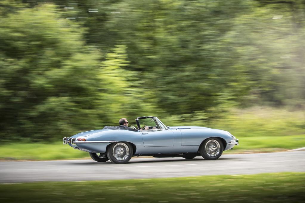 Jaguar E-Type Zero Concept Driving