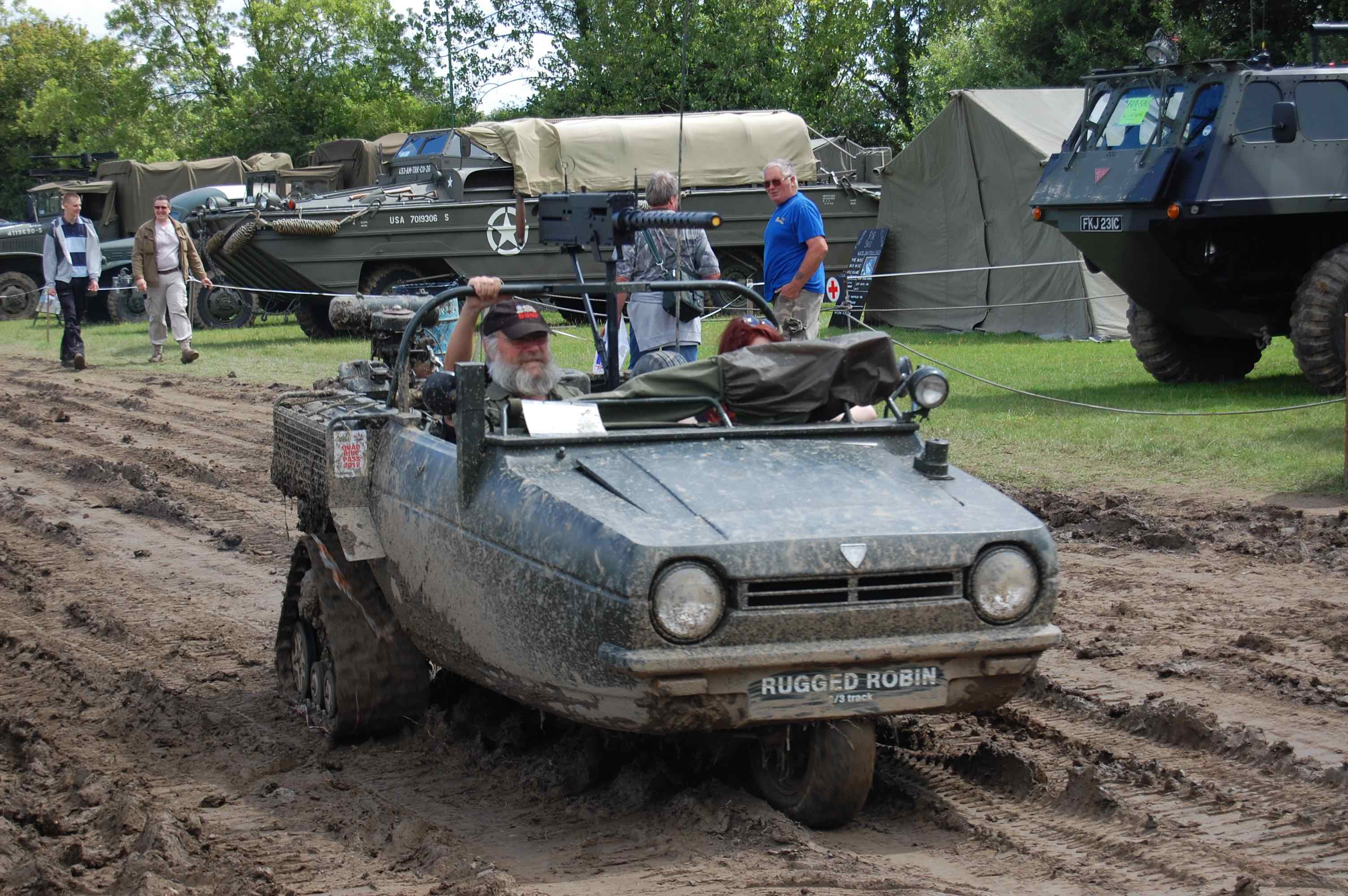 2018 War and Peace Revival Battle Reliant Robin Rugged