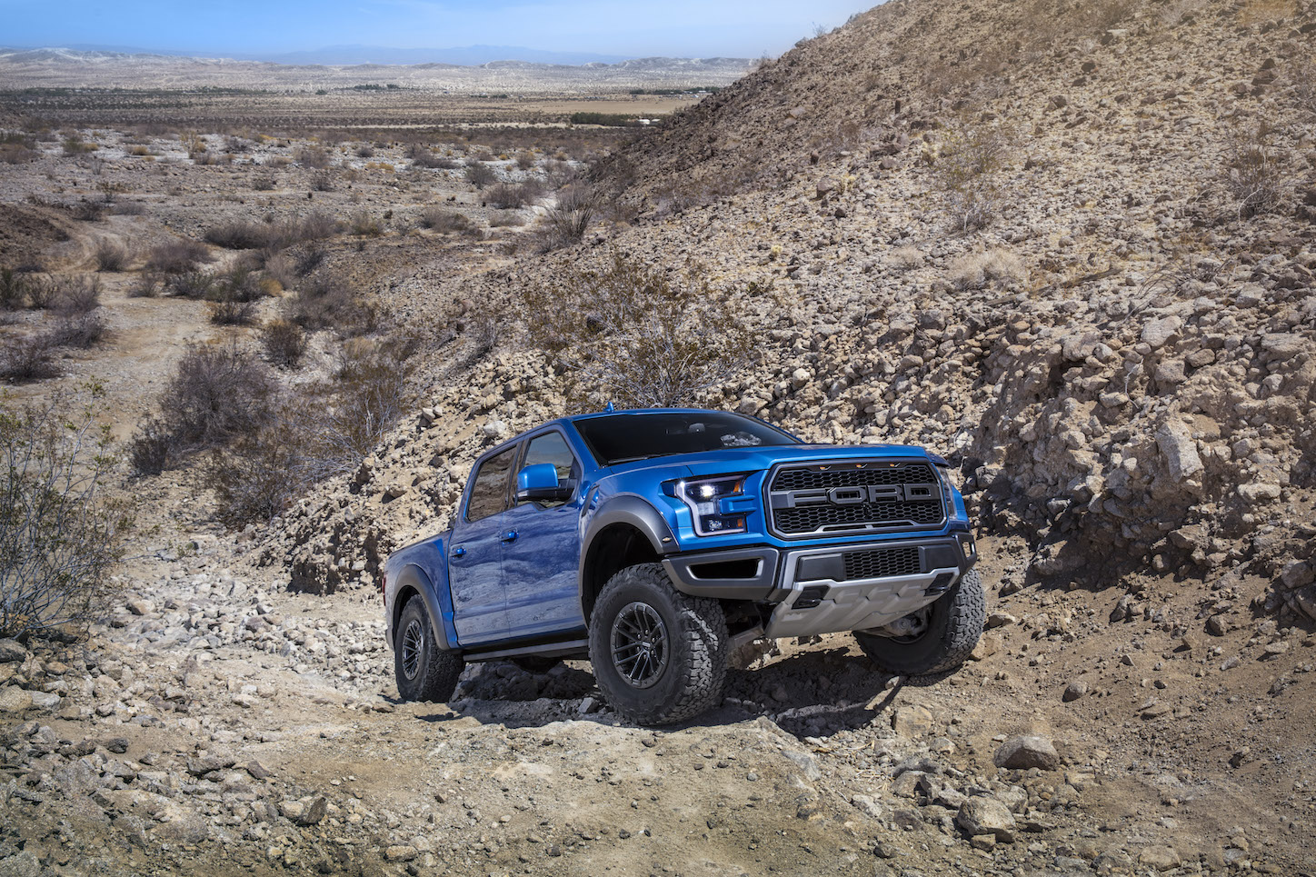 2019 Ford F-150 Raptor Hill climb
