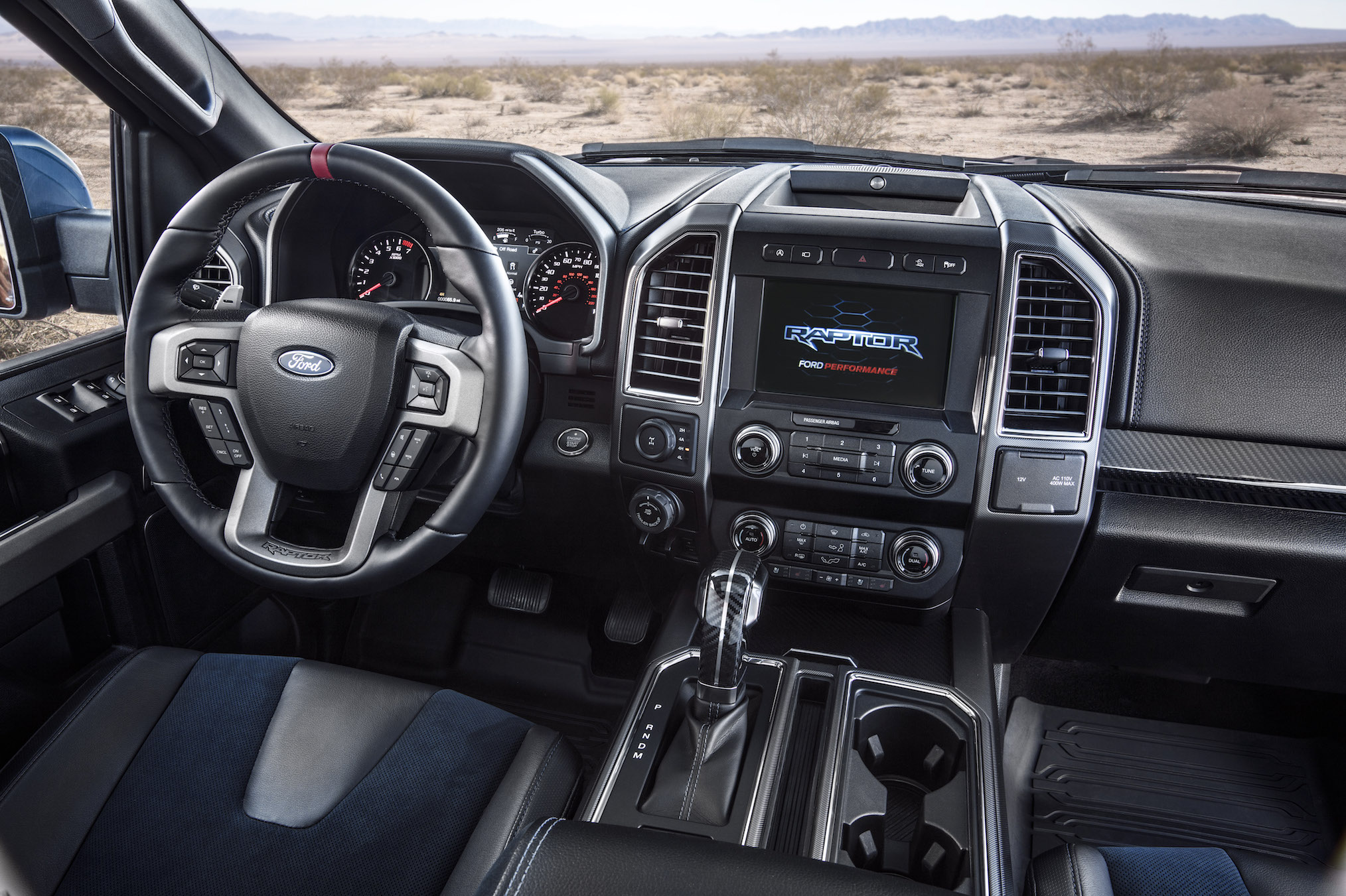 2019 Ford F-150 Raptor Interior Screen infotanment
