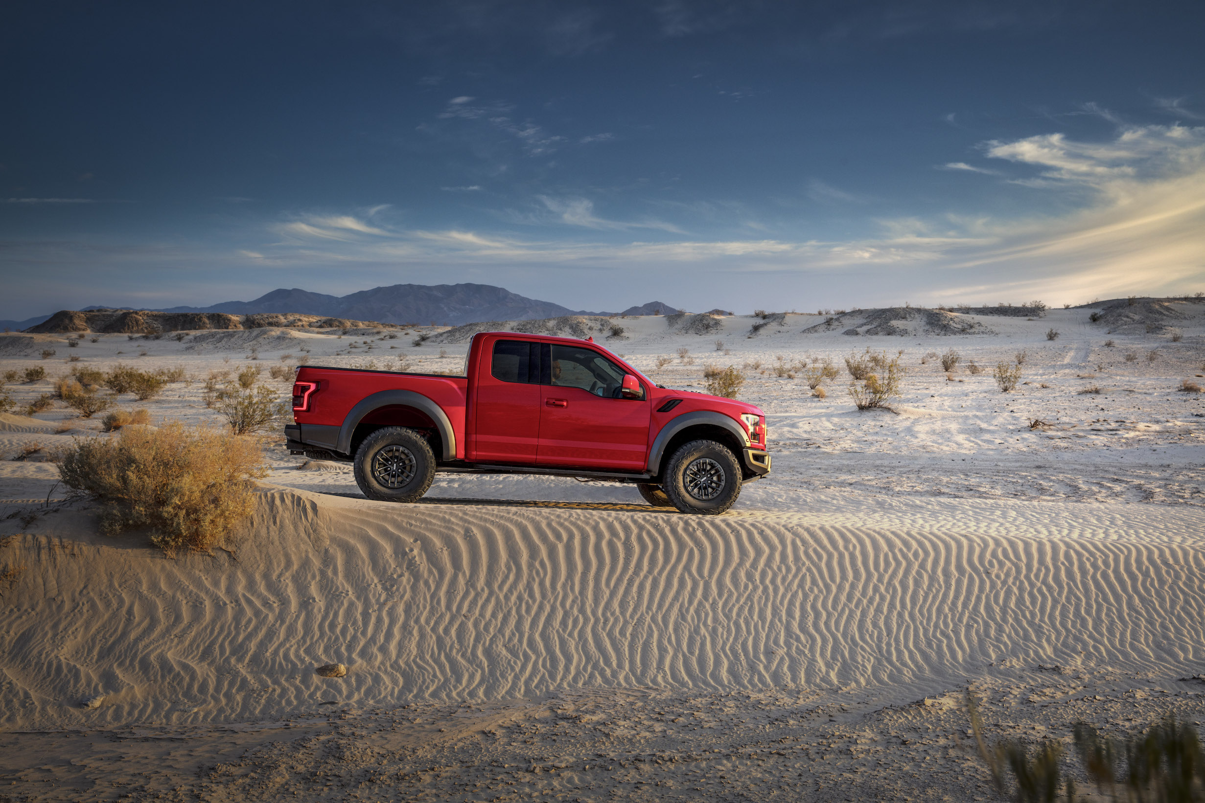 2019 Ford F-150 Raptor Sand Dunes Stationary