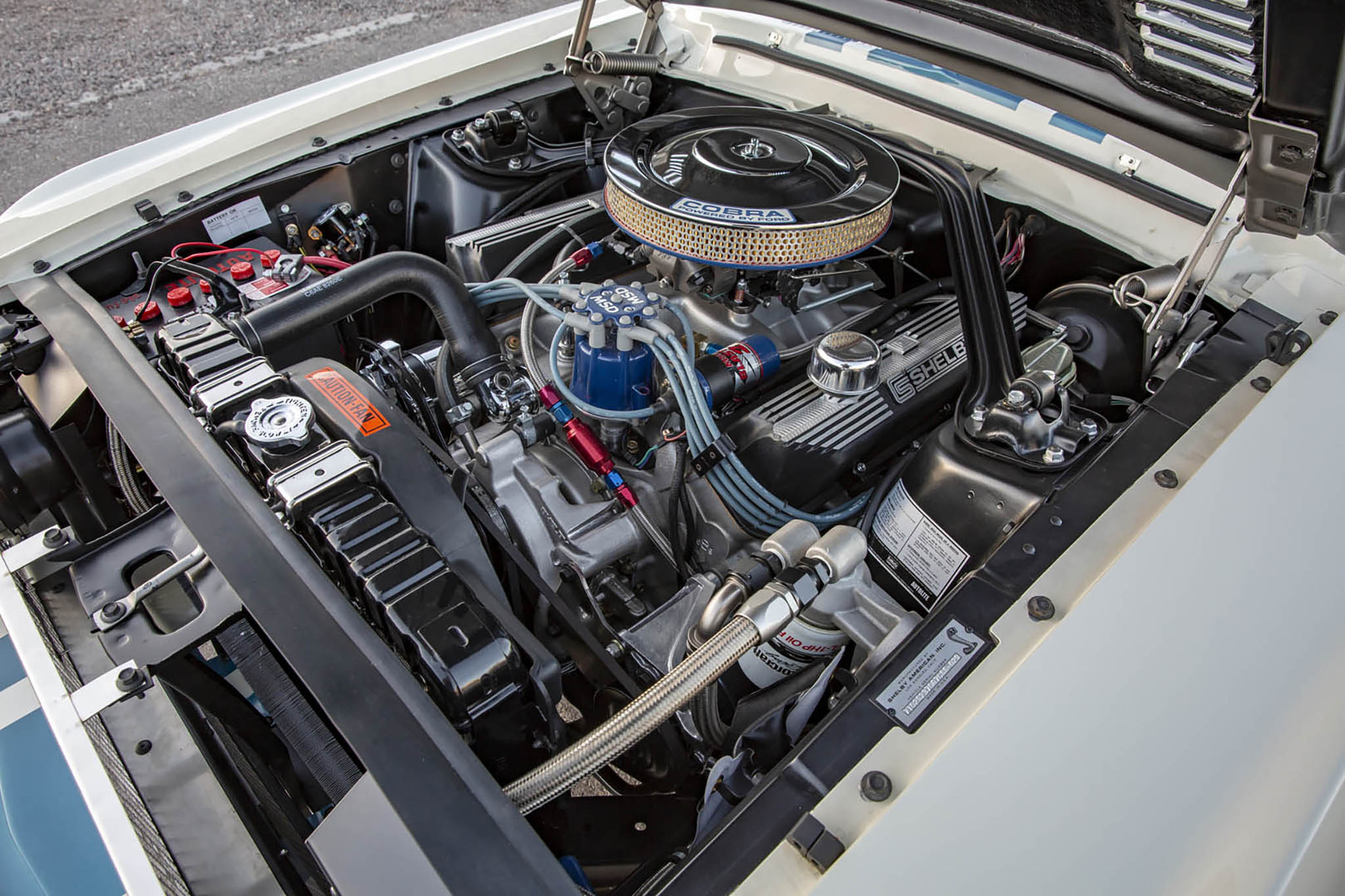 1967 Ford Shelby GT500 Super Snake Continuation Engine