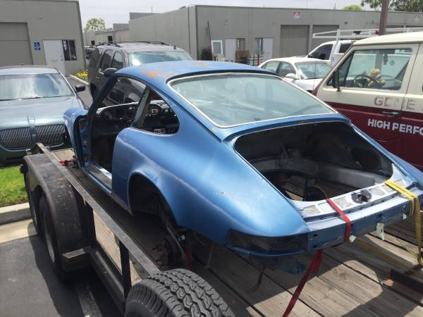 Tom Perazzo's 911 purchase pic from craigslist