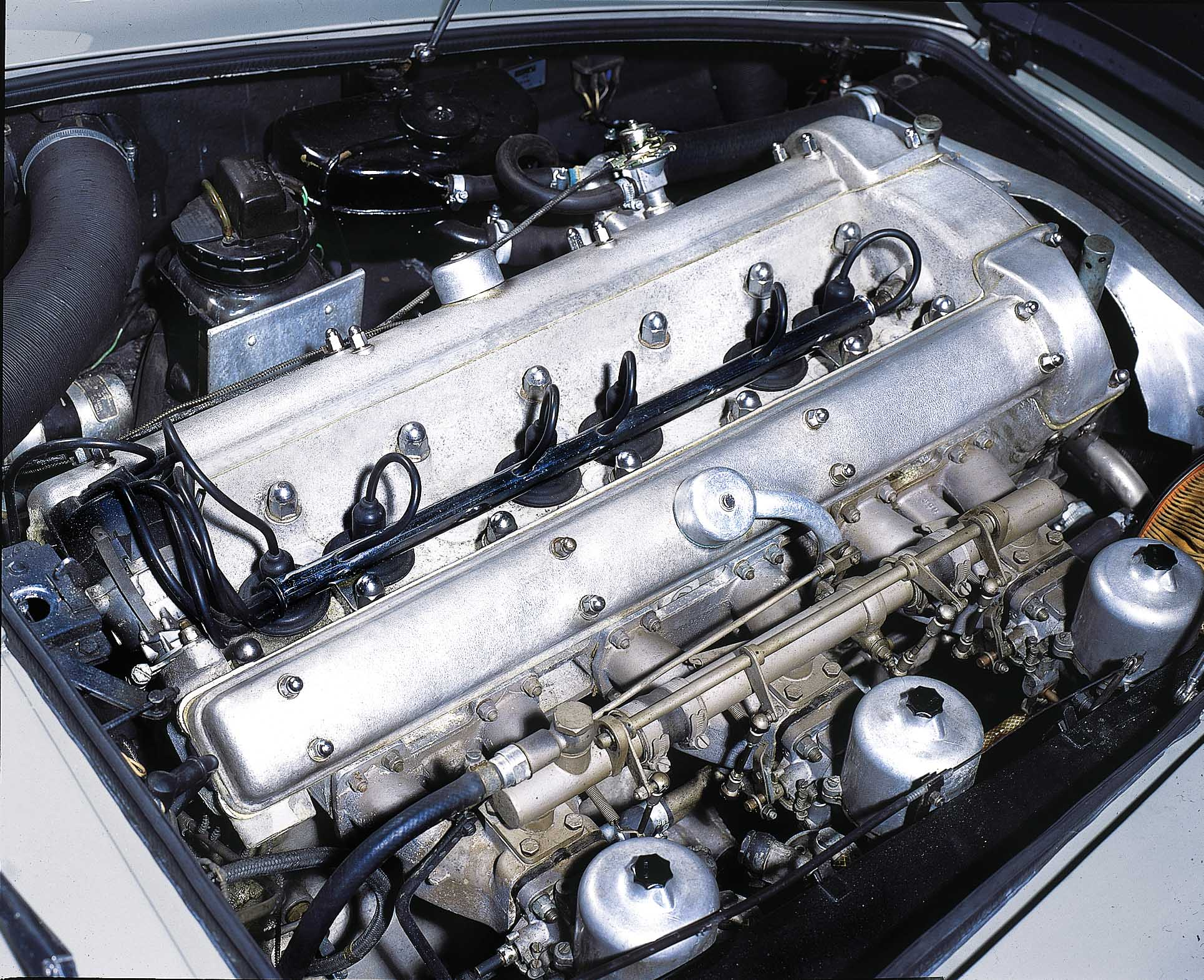 1965 Aston Martin DB5 Engine