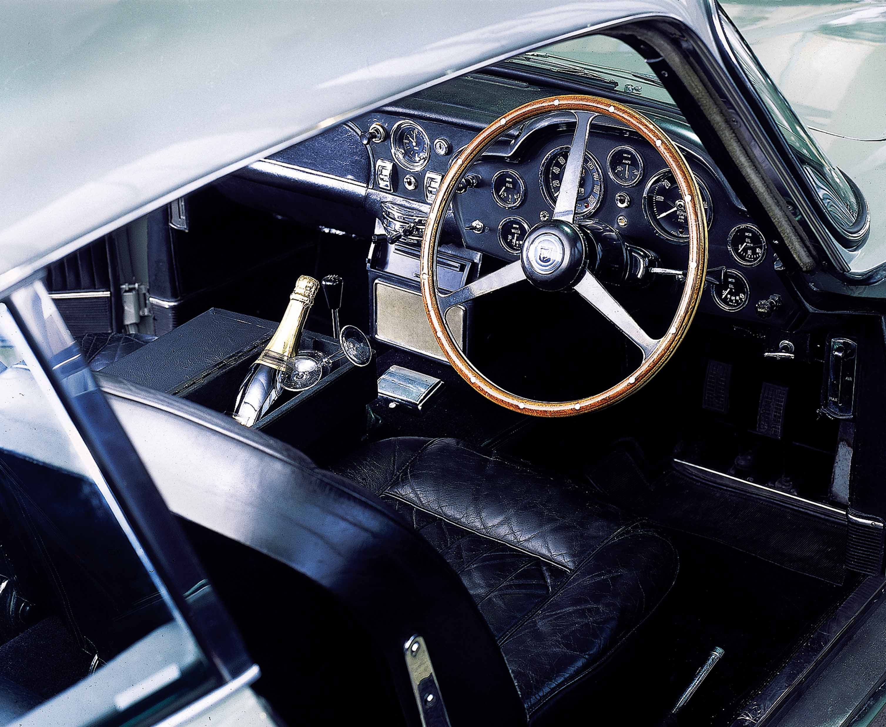 1965 Aston Martin DB5 Interior