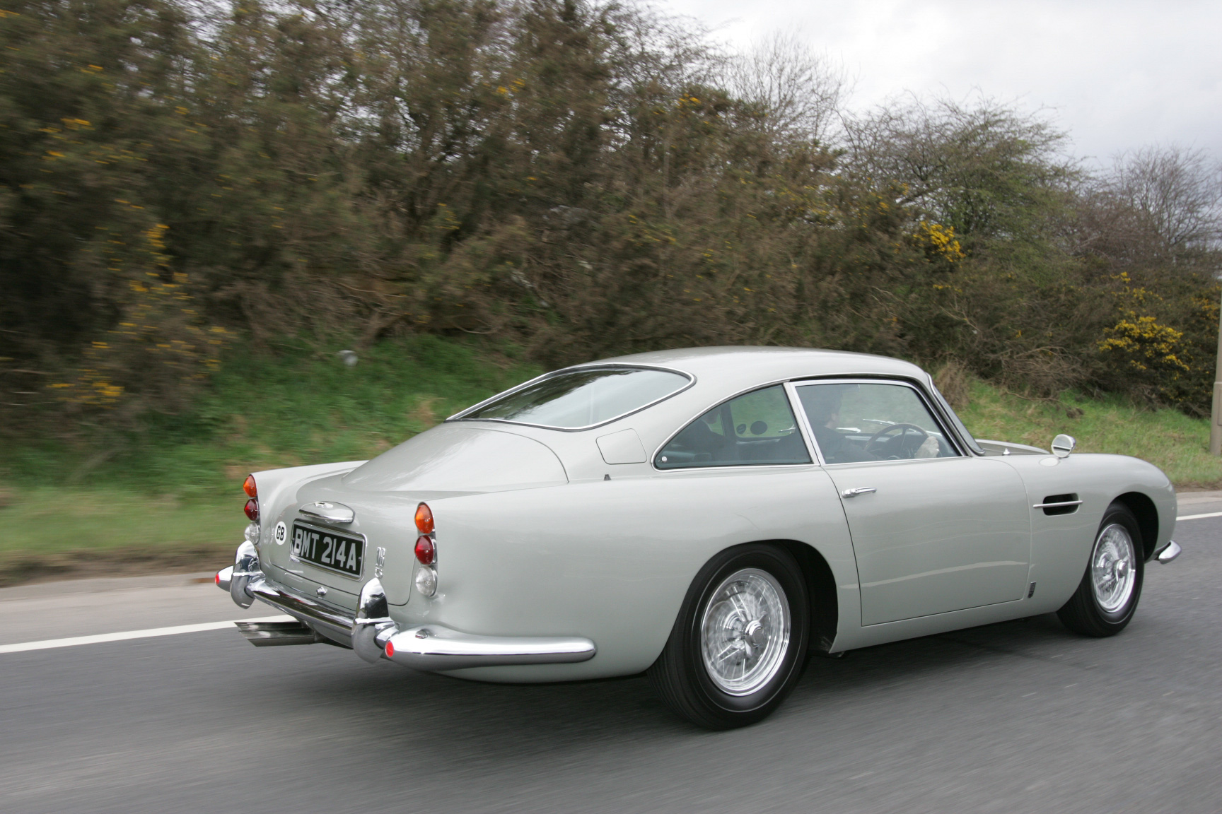 1965 Aston Martin DB5 Moving Rear Photo