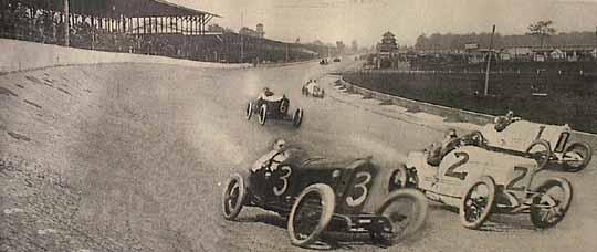 1915 Indianapolis 500 Start