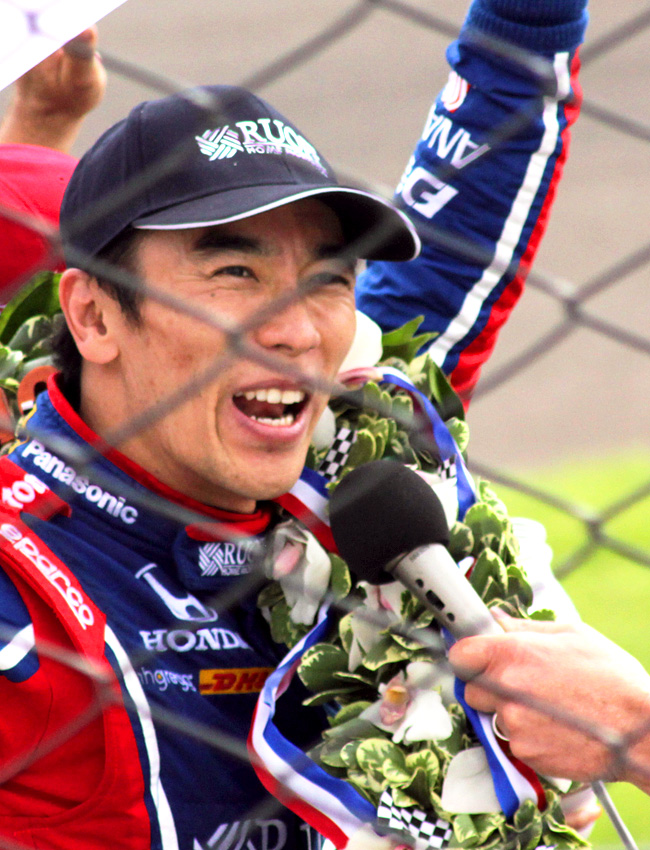 2017 Indy 500 winner Takuma Sato