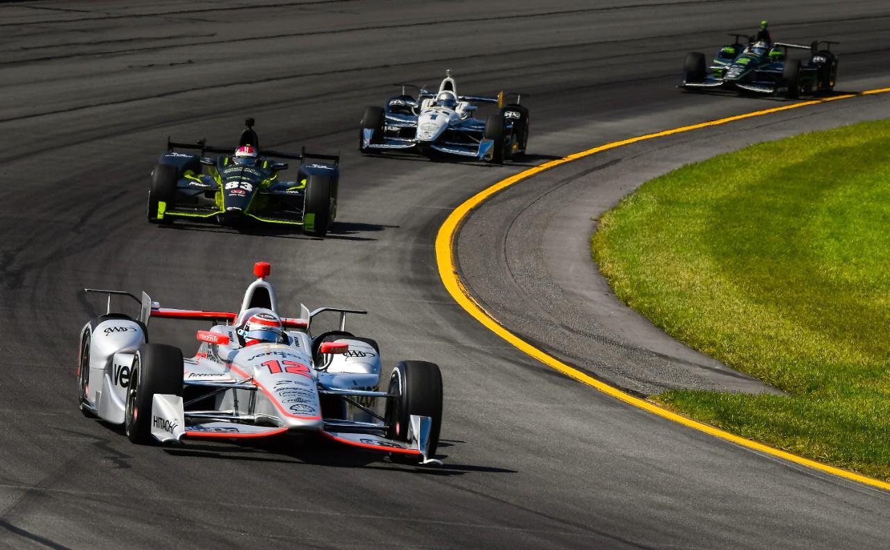 Team Chevy at Pocono Raceway indy car