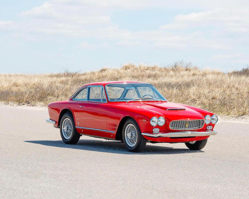 Red 1963 Maserati Sebring 3500GTi Series 1
