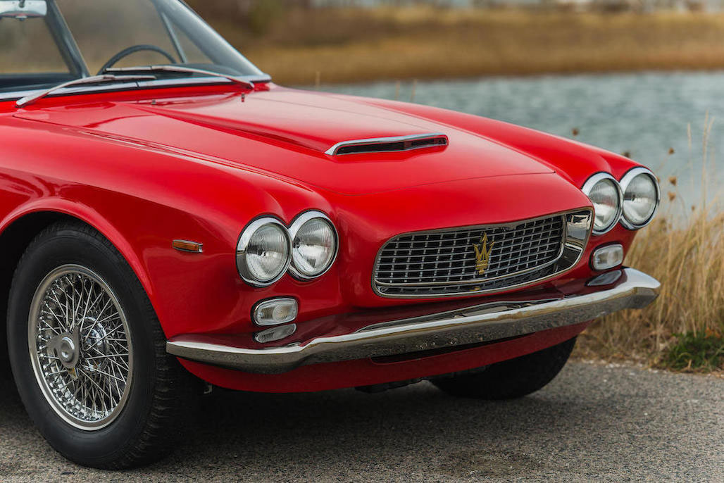 1963 Maserati Sebring 3500GTi Series 1 nose