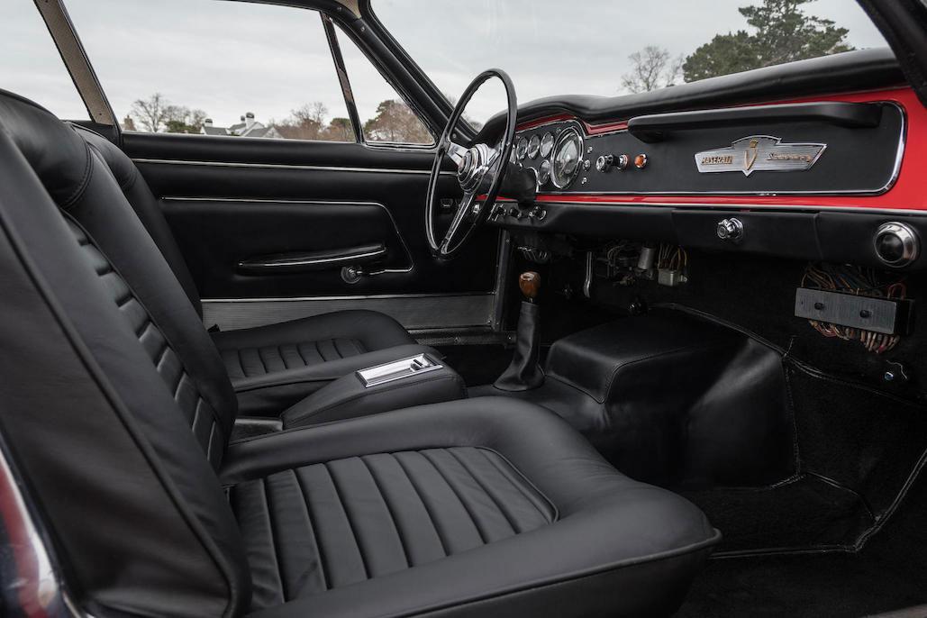 1963 Maserati Sebring 3500GTi Series 1 interior