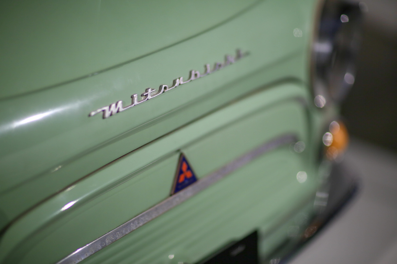 Mitsubishi 500 Super Deluxe Badge