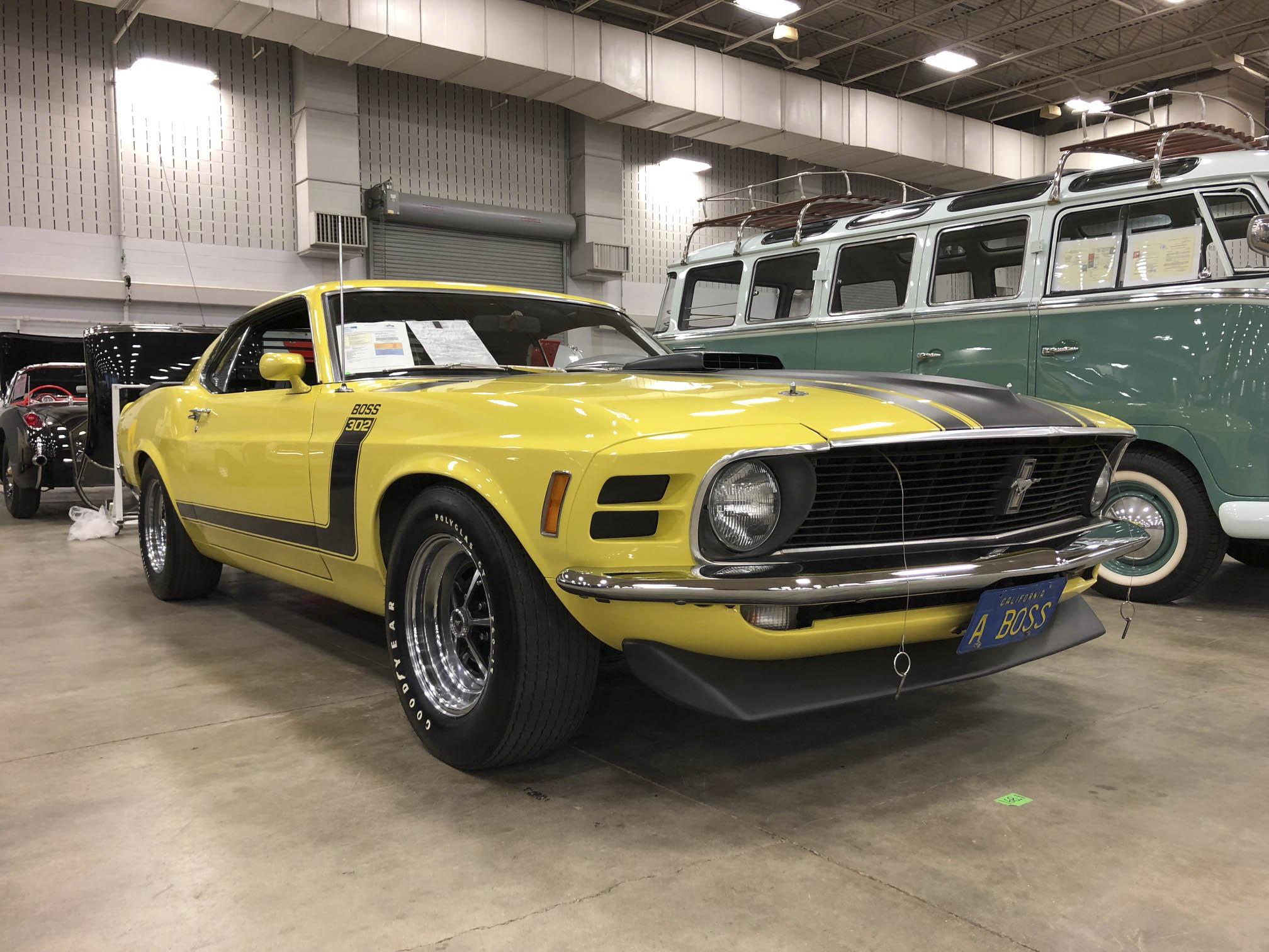 "1970 Ford Mustang Boss 302 ""Drag Pack"""