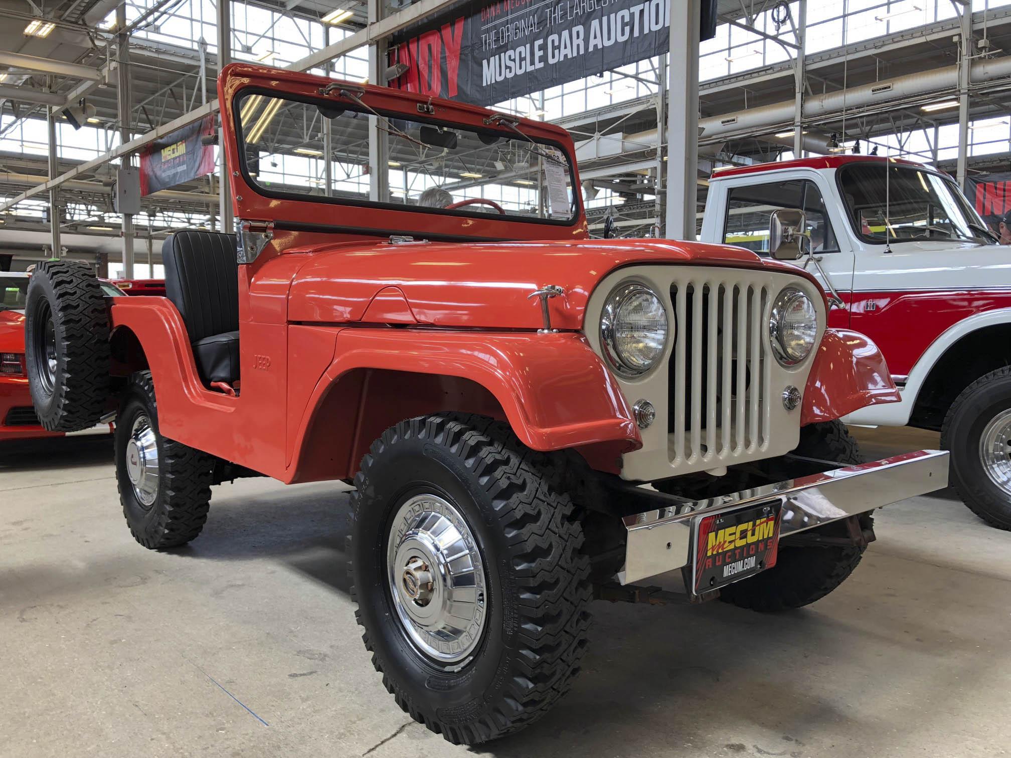 classic Jeep CJ