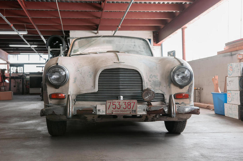 1954 Aston Martin DB2/4 Mark II Drophead Coupé Front grill
