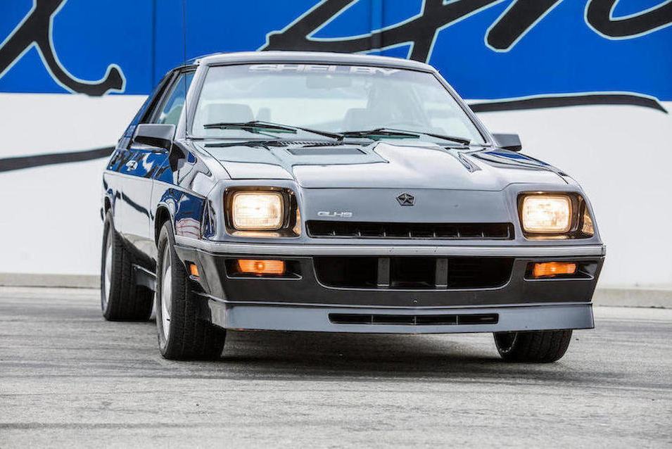 1987 Dodge Shelby Charger GLH-S