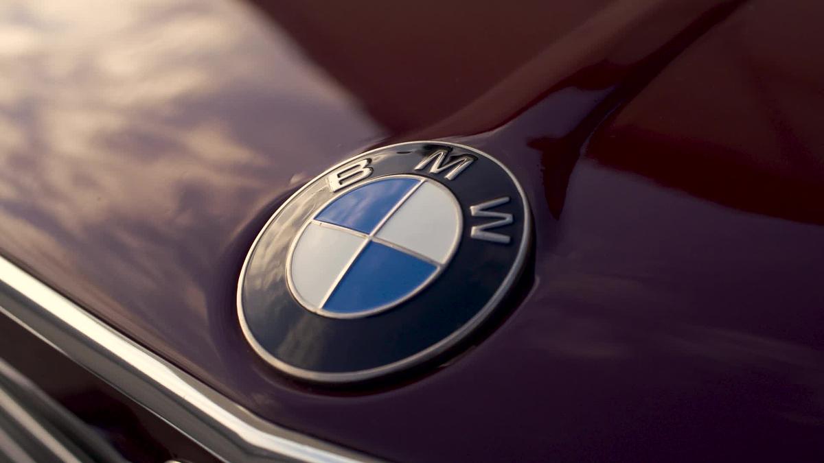 BMW hood badge