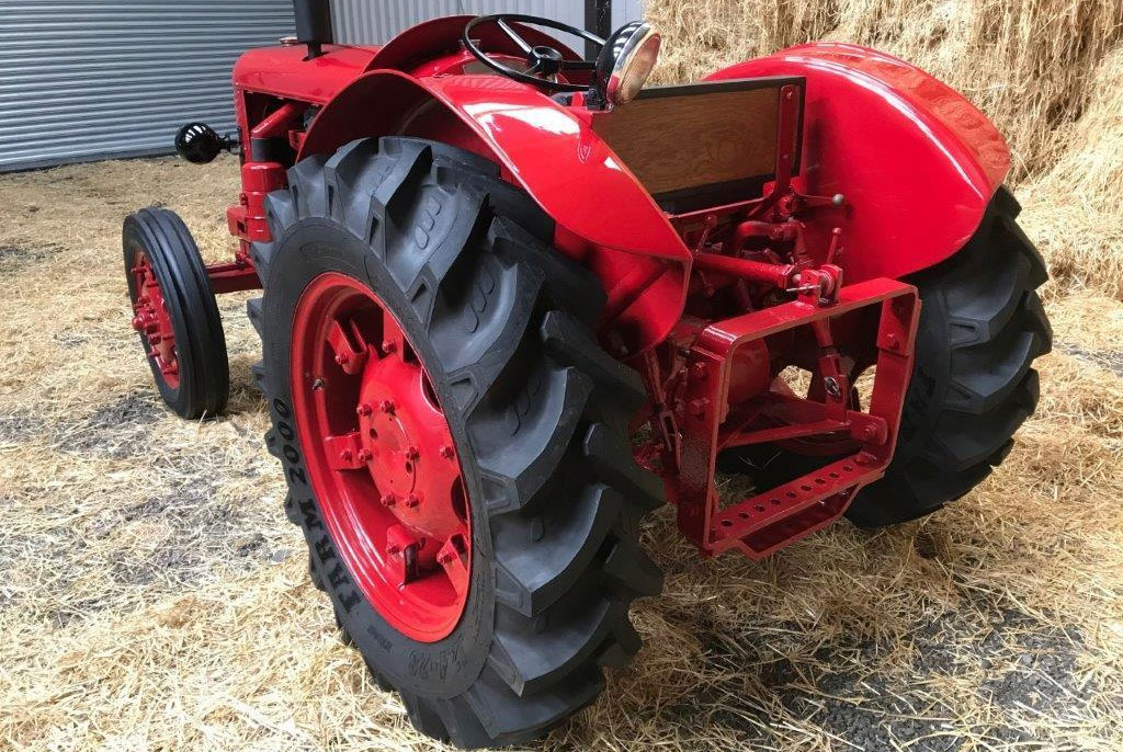 1951 David Brown T.V.O Cropmaster Tractor rear 3/4