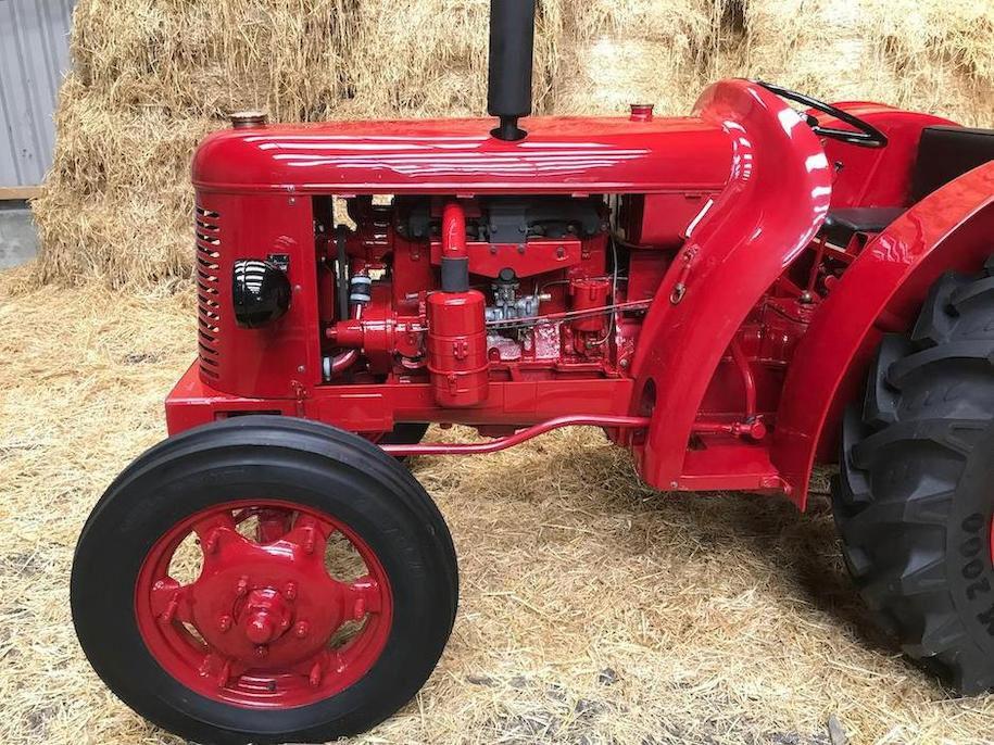 1951 David Brown T.V.O Cropmaster Tractor engine profile