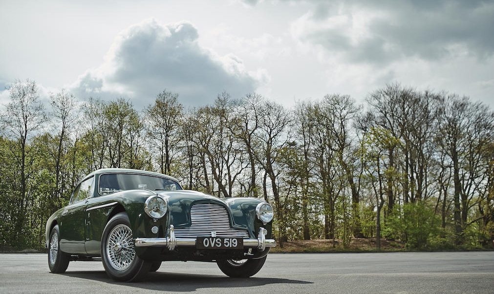 1956 DB2/4 Mark II 3.7-Litre Coupe