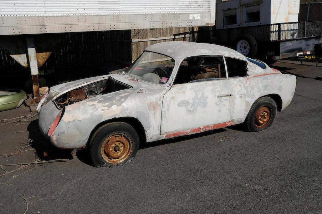 """c.1957 Fiat Abarth 750 Zagato """"Double Bouble"""""""