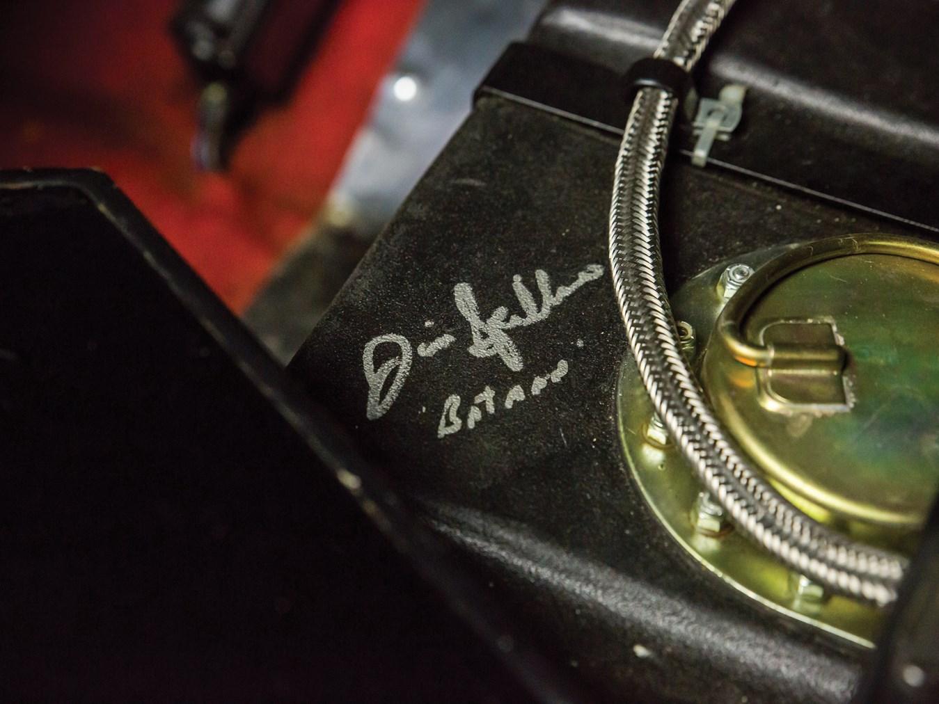 Batmobile #5, Batman signature