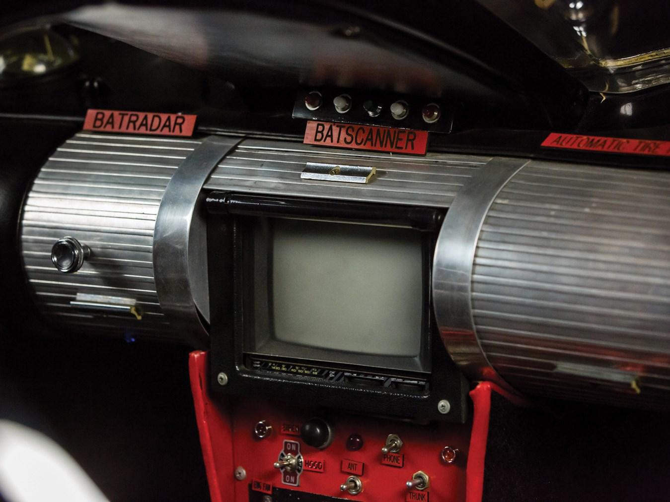 1966 Batmobile Recreation Batscanner detail
