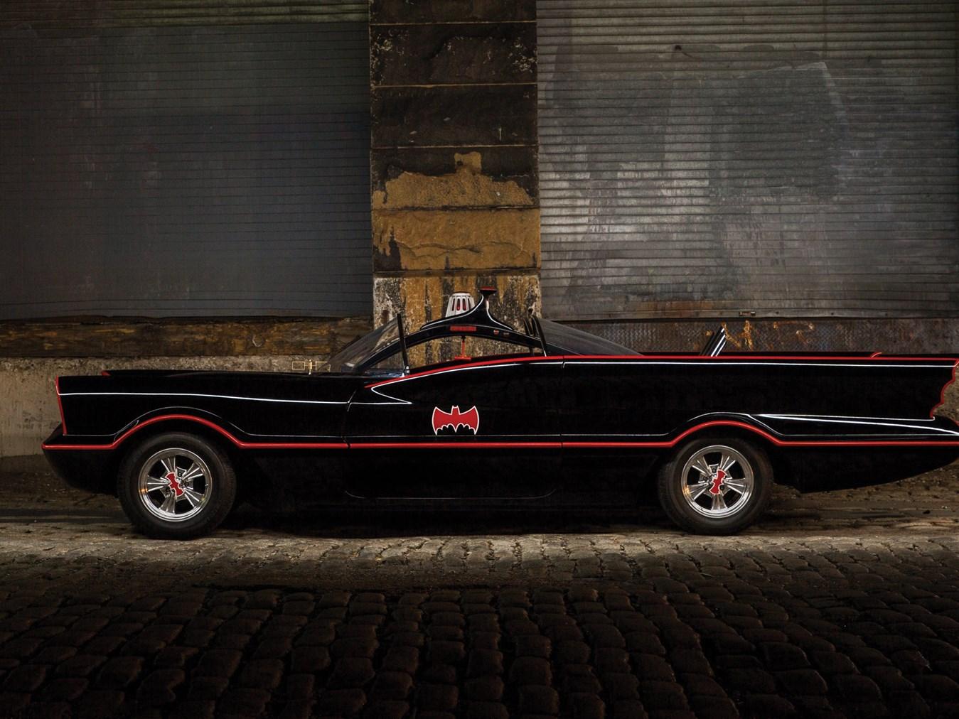 "1966 Batmobile Recreation ""#5"" profile"