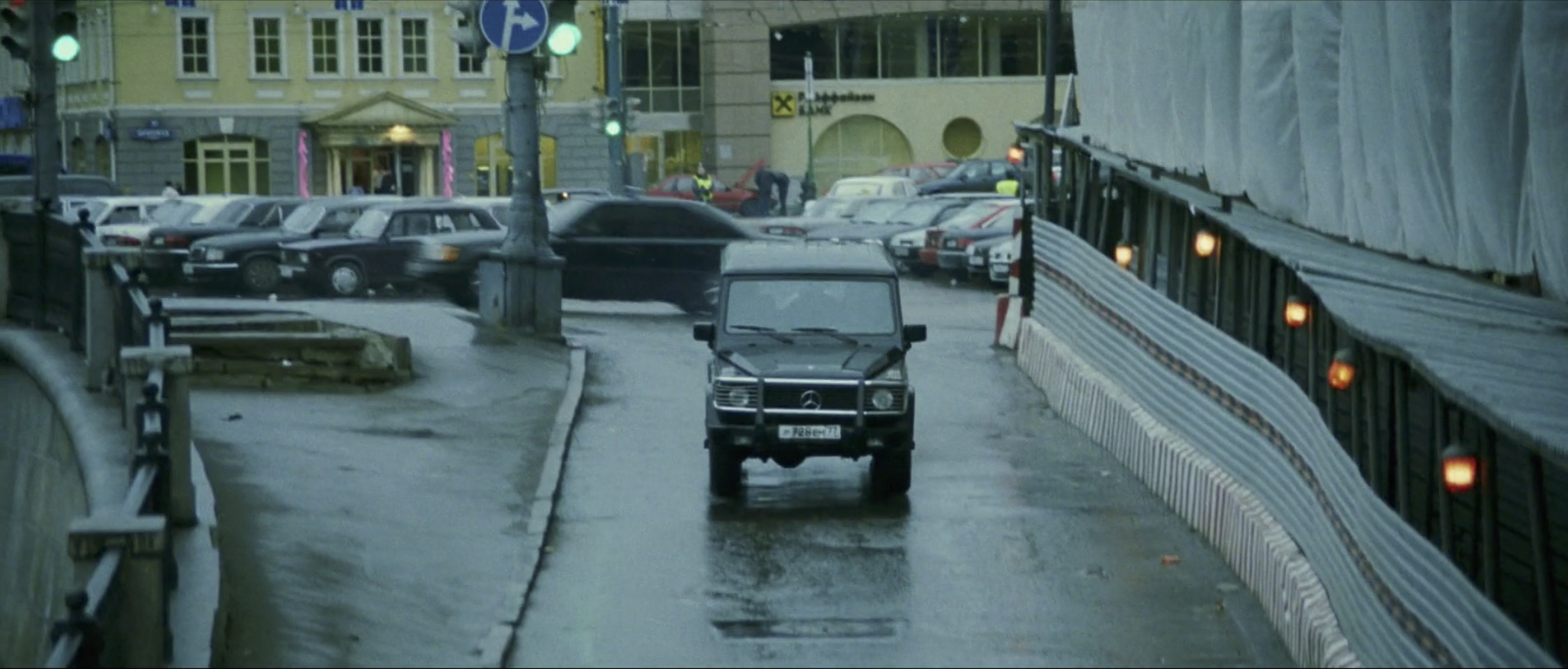 Bourne Supremacy Car Chase Mercedes AMG G63