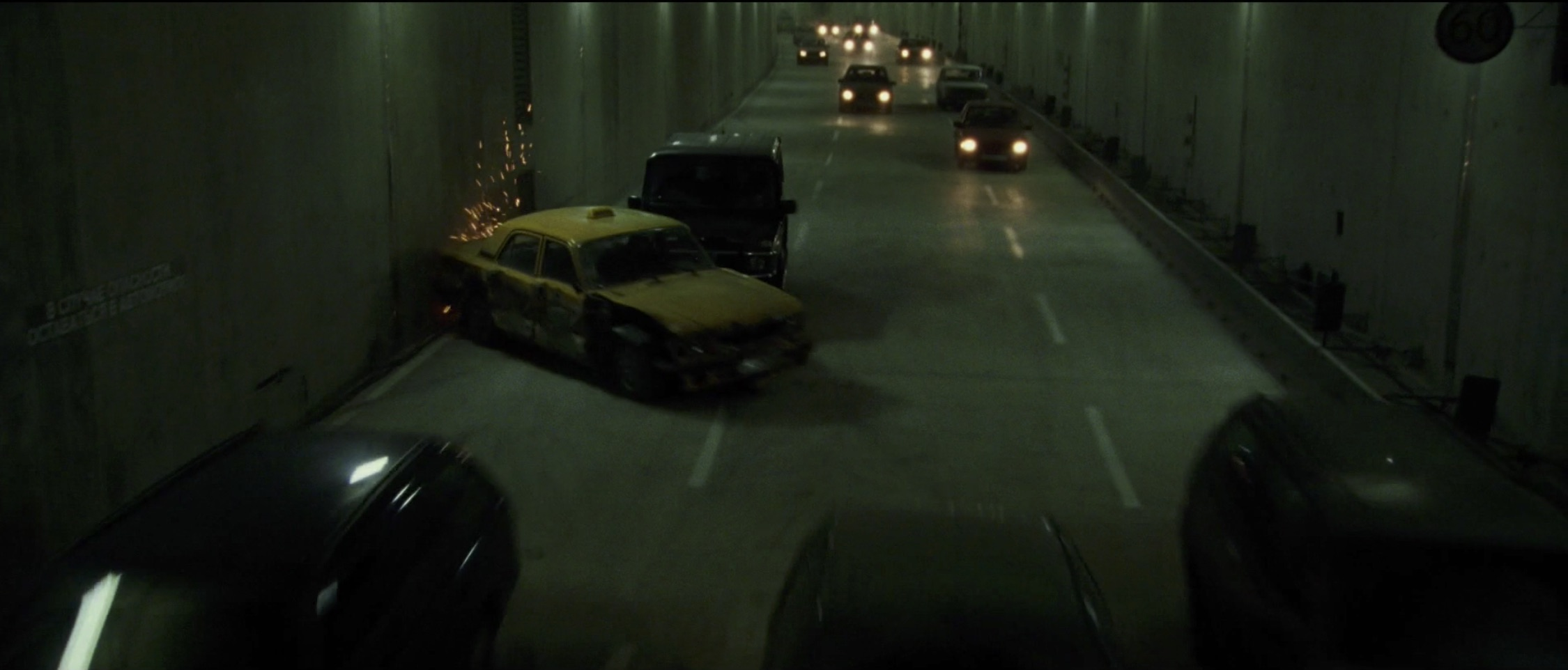 Bourne Supremacy Car Chase Taxi Spin out