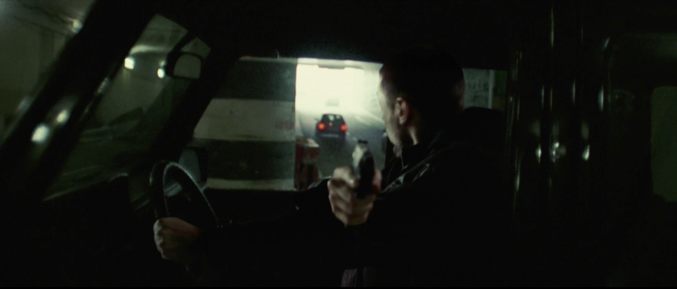 Bourne Supremacy Car Chase Gun Mercedes AMG