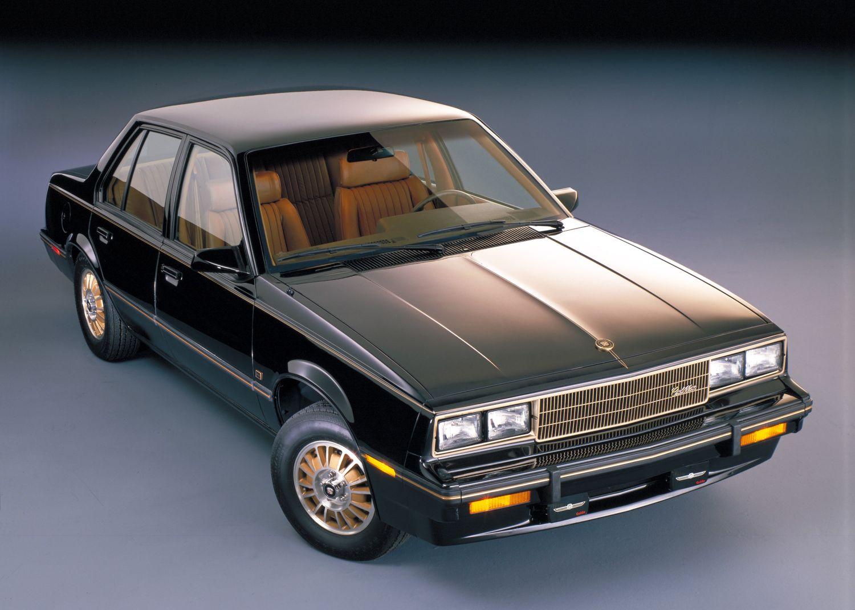 1983 Cadillac Cimarron press Photo
