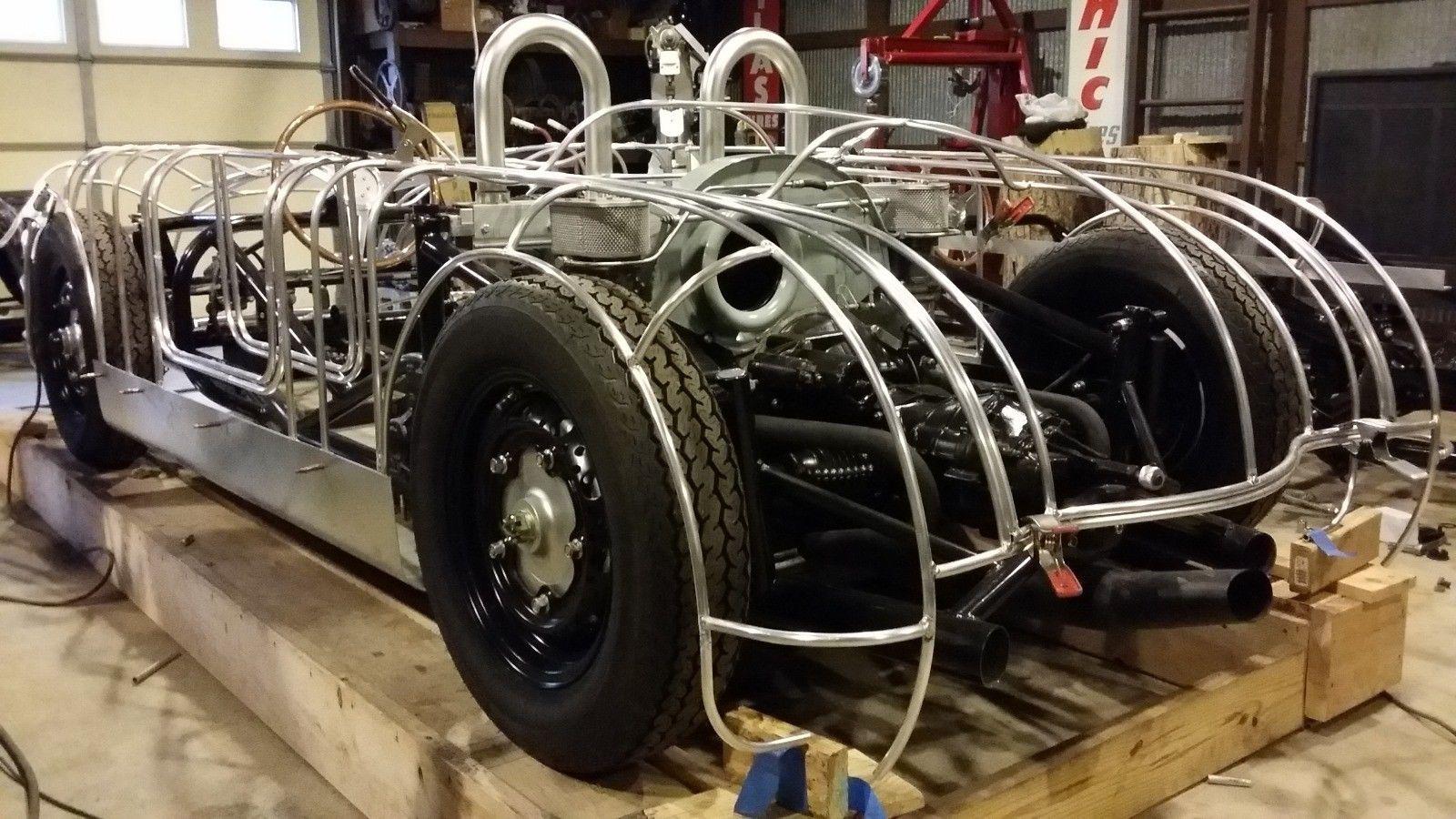 Custom Porsche 356 Frame and Engine
