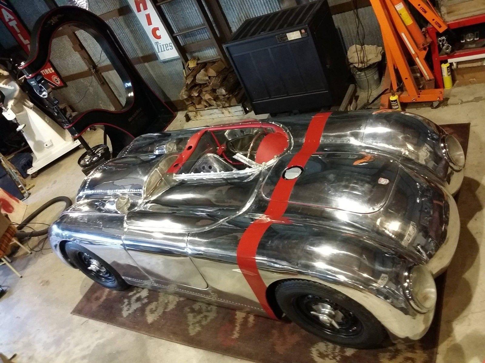 Custom Porsche 356 Top 3/4 View