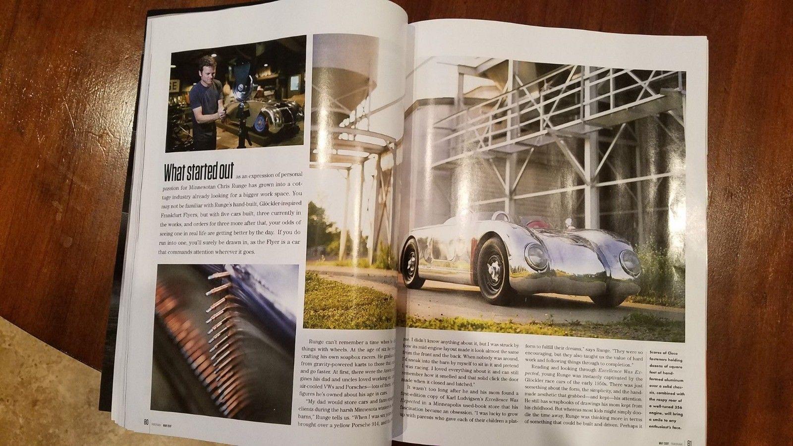 Custom Porsche 356 Magazine Article