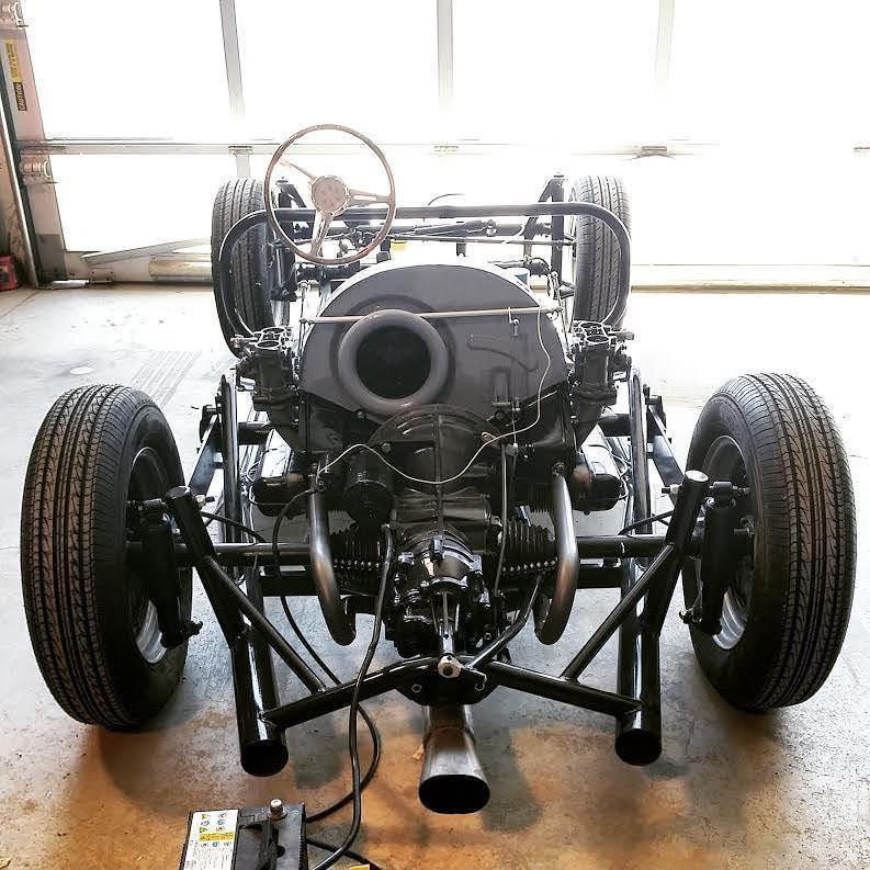 Custom Porsche 356 Rear Engine and Frame