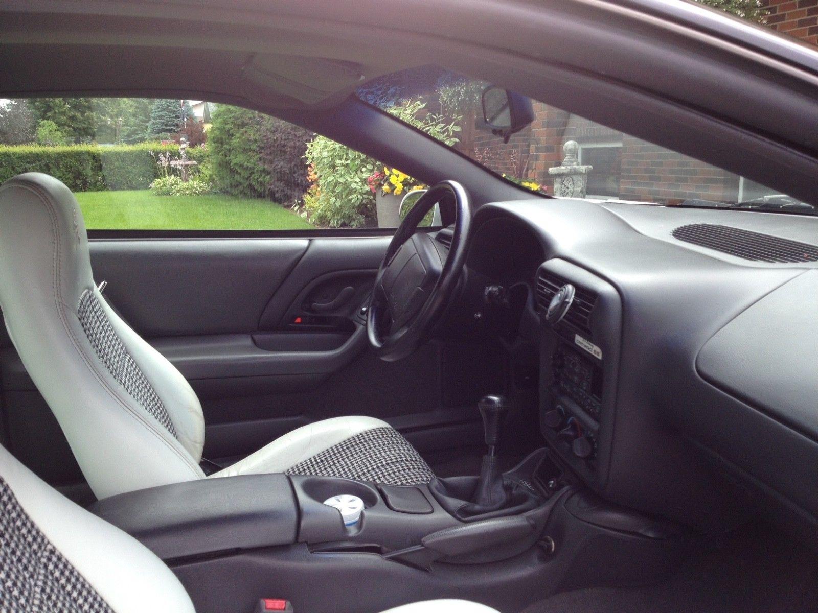1997 Chevrolet Camaro hardtop interior