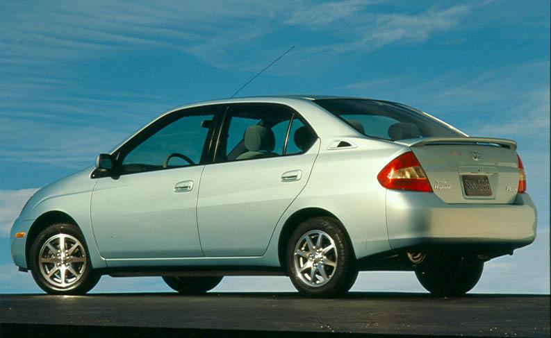Toyota Prius rear 3/4