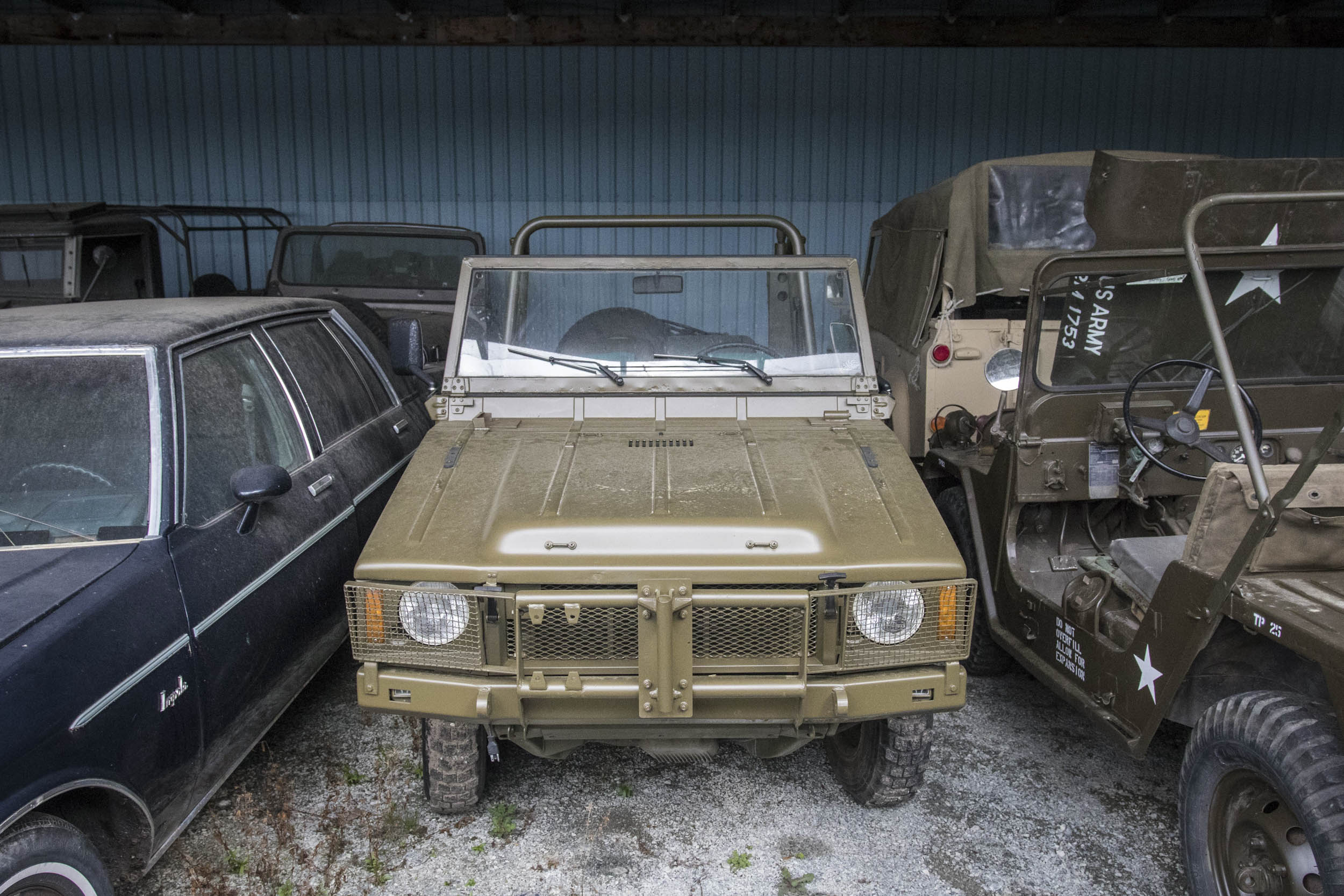 Designed by Audi but badged as a Volkswagen, the Iltis was a burly little Jeep replacement for the German Army. It wasn't particularly refined, but the 1.7-liter four-cylinder was durable, and the four-wheel-drive system was so good it eventually inspired Audi's Quattro.