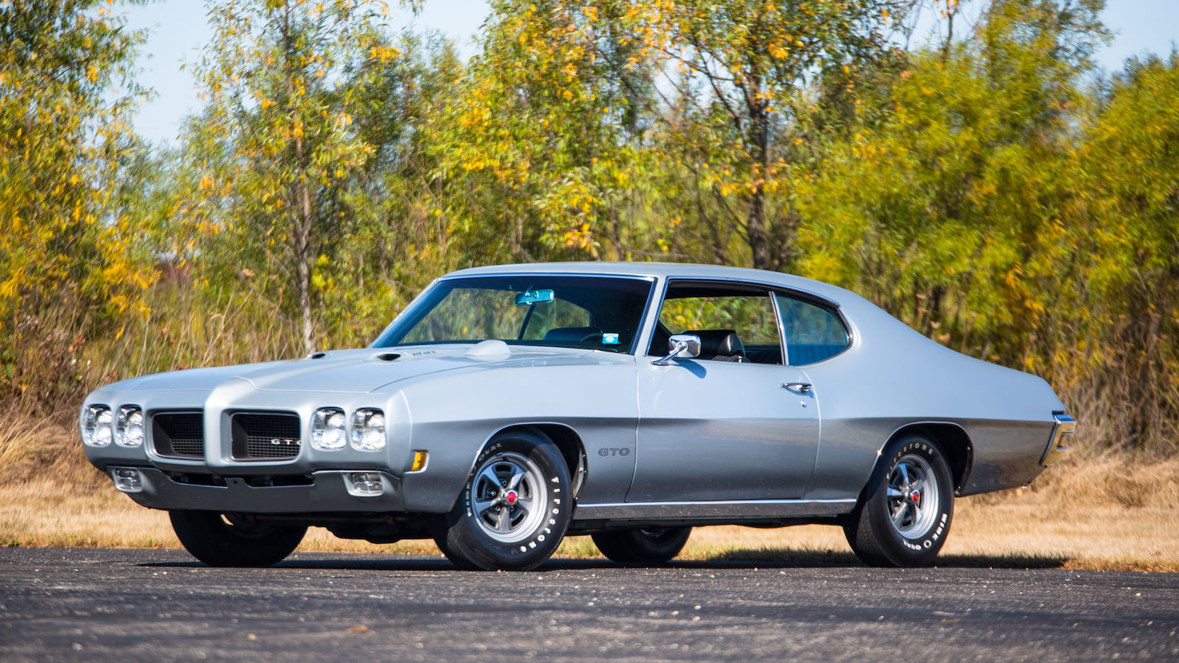1970 Pontiac GTO Ram Air IV Front and side