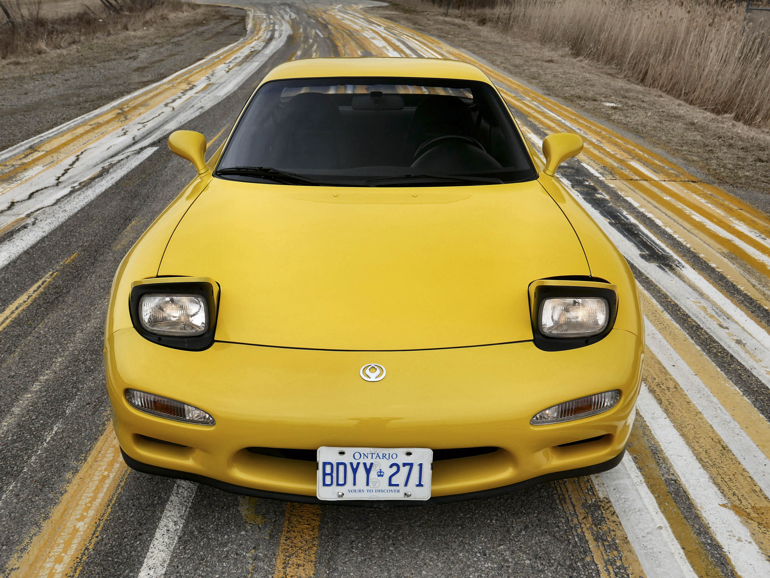 Mazda RX-7 front