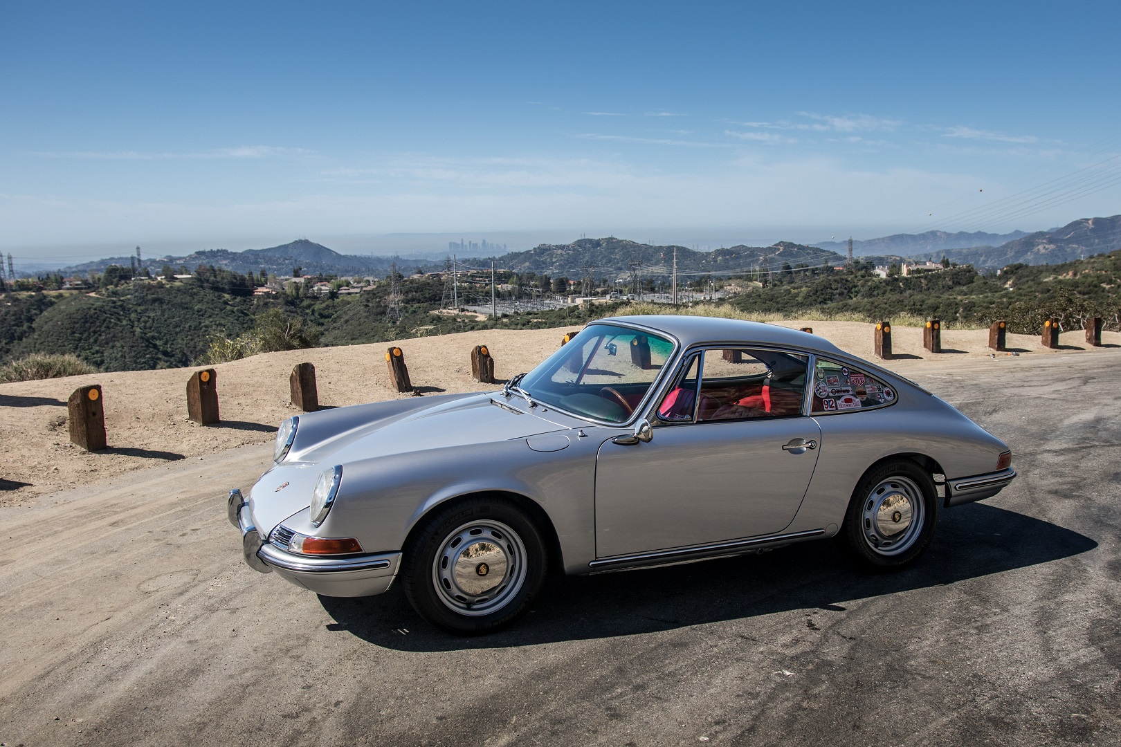 Electric Porsche 912 Side View