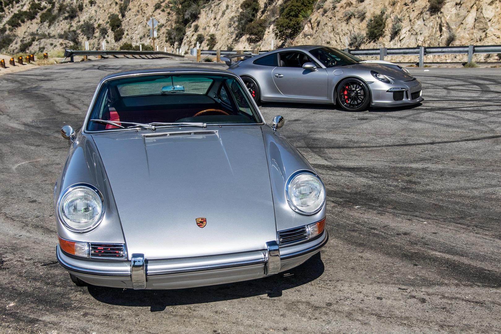 Electric Porsche 912 and New Porsche